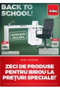"""Catalog kika mobilier 20 august - 16 septembrie 2018 """"Back to..."""