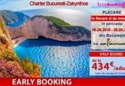 Exotic si aparte!!! Early Booking Charter Bucuresti-Zakynthos, sejur de...
