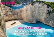 Sejur ZAKYNTHOS cu reducere Early Booking 10%-20%, reducere valabila...